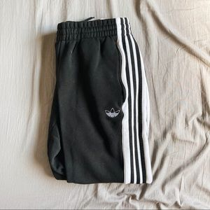 Black and White Adidas Sweatpants 🤍🖤